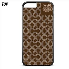 Coach Pattern For Iphone 6 | 6S Plus Case