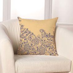 Found it at AllModern - Cascading Floral Throw Pillow