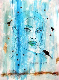 Bastelmania: Blue and grey:
