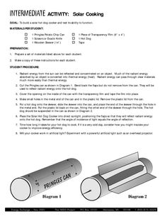 Pringles can solar hot dog cooker- webelos activity
