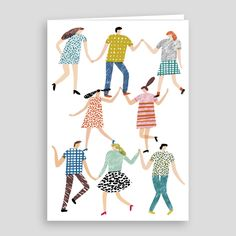 New favourite new card at Ink & Thread. Illustrated by Charlotte Trounce published by Wrap.