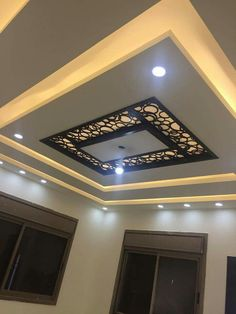 5 Creative and Modern Tips and Tricks: False Ceiling Design Tile false ceiling tiles.False Ceiling Home Interior Design false ceiling corridor living rooms.False Ceiling With Wood Ideas. Home Ceiling, Modern Room, Chandelier In Living Room, Ceiling Lights, Minimalist Living Room, False Ceiling Design, Modern Ceiling, Ceiling Design Modern, Stairs Design