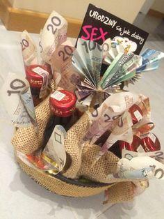 Money and vodka, birthday prezent