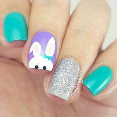 Easter Nail Designs, Easter Nail Art, Polish Easter, Spring Nail Art, Spring Nails, Summer Nails, Simple Nail Designs, Nail Art Designs, Nails Design