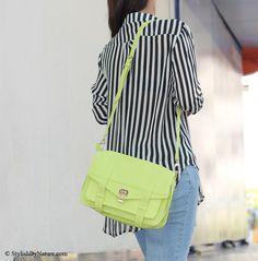 #neon #satchel #bag #ss13 #leather #monochrome