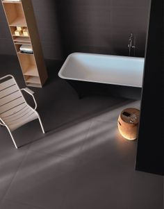 Brix tile FADE - LO STUDIO Design. Fade investigates neutral shades of color, drawing inspiration from the technique of cold fabric dyeing. Outdoor and indoor use, saunas and swimming pool. Floor and wall. Living, bathroom, kitchen, modern, contemporary. www.brixweb.com #brix #tile #tiles