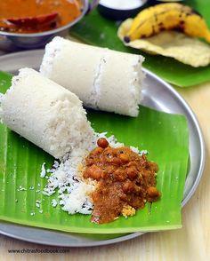 Kerala Kadala curry - Nadan Kadala curry recipe for puttu, appam & dosa Veg Recipes, Curry Recipes, Indian Food Recipes, Vegetarian Recipes, Cooking Recipes, Kerala Recipes, Ethnic Recipes, Breakfast For Dinner, Indian Recipes