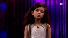 Fly Me To The Moon - Angelina Jordan, Little girl sings