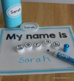 1-name puzzles and name activities writing name