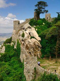 Moorish Castle in Sintra,Portugal