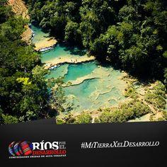 Las Verapaces son unos de los departamentos más bellos de Guatemala, destacan entre sus maravillas las piscinas naturales de Semuc Champey en el río Cahabón descubiertas por el famoso escritor guatemalteco Francisco Oswaldo Reyes Narciso.