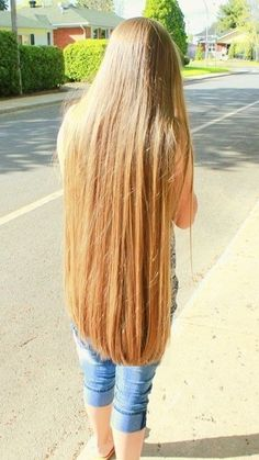 My Girlfriend wants cut it off my ass long Hair Long Blond, Long Dark Hair, Beautiful Long Hair, Gorgeous Hair, Pretty Hairstyles, Straight Hairstyles, Really Long Hair, Rapunzel Hair, Silky Hair
