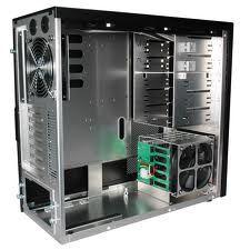 prázdná skřín PC
