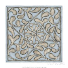 Silver Filigree VII Giclee Print by Megan Meagher at AllPosters.com
