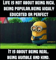 Minions Run - Funny Minions Memes Well Said Quotes, True Quotes, Great Quotes, Quotes To Live By, Motivational Quotes, Funny Quotes, Inspirational Quotes, Minion Jokes, Minions Quotes
