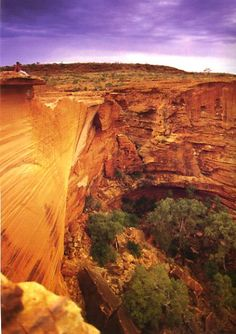 King's Canyon, Australia - Explore the World with Travel Nerd Nici, one Country at a Time. http://TravelNerdNici.com