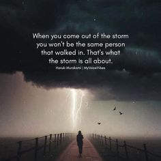 Positive Quotes : QUOTATION – Image : Quotes Of the day – Description When you come out of the storm.. Sharing is Power – Don't forget to share this quote ! https://hallofquotes.com/2018/04/17/positive-quotes-when-you-come-out-of-the-storm/