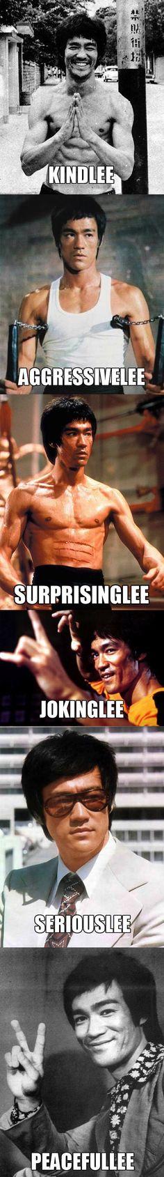 The many sides of Bruce Lee ------------------------------------ www.urbanwarriorsacademy.com www.facebook.com/urbanwarriorslondon www.twitter.com/UWAlondon  Come on... He's one of the best :)
