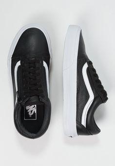 Dames Vans OLD SKOOL - Sneakers laag - black Zwart: 84,95 € in maat 40,5