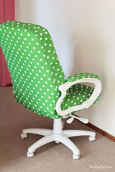 Recover an old office chair