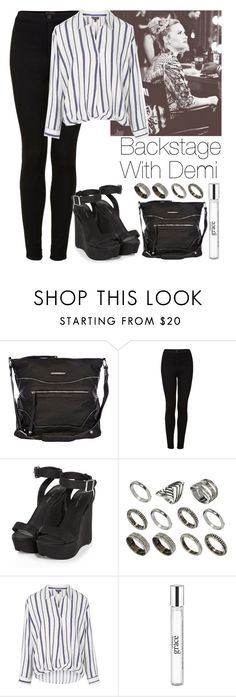 """""""Backstage with Demi"""" by lovatic92 ❤ liked on Polyvore featuring River Island, Topshop, ASOS, philosophy, DemiLovato, Lovatic, xfactor, backstage and throwbackstyle"""