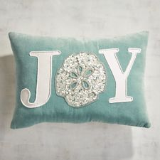 Coastal Joy Shell Lumbar Pillow