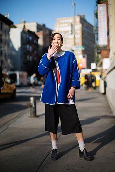 The Sartorialist / On the Street…Lafayette St., New York  // #Fashion, #FashionBlog, #FashionBlogger, #Ootd, #OutfitOfTheDay, #StreetStyle, #Style
