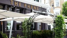 The Phene, Chelsea London Found on Phene Street in Chelsea, this gastro pub has a beer garden to rival most in London. Offering up delicious grub all week and international wines, The Phene is the place to spot Hugo Taylor and his other Made in Chelsea cast mates treating themselves to a top notch Sunday lunch.   Chilling with mates, Private party  Happily Affordable ££