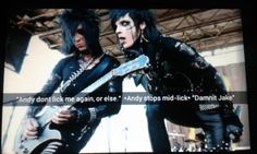 Andy Biersack and Jake Pitts funny