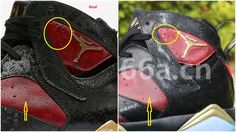 0586afc3855 Real Vs Fake Air Jordan 7 Retro Doernbecher  Quick Tips To Avoid The Fakes