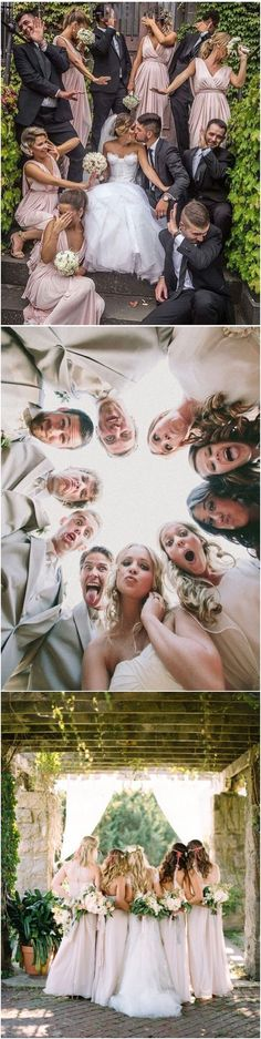 funny wedding photo ideas with bridal party... - #Viral #Funny #Pic