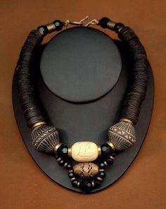 Gallery African Jewelry Jewellery Necklaces by Sonja Zytkow Ethnic Jewelry, Chunky Jewelry, Unusual Jewelry, African Jewelry, Bohemian Jewelry, Modern Jewelry, Statement Jewelry, Jewelry Art, Beaded Jewelry