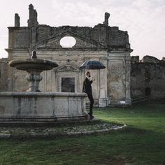 I have always been fascinated with those abandoned places... Ruins are the cathedrals of time.