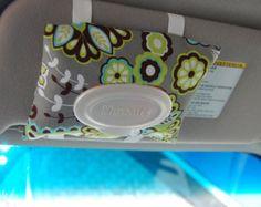 Car Visor Wipes Case - Travel Wipes Holder