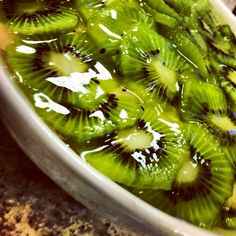 Recipe for Kiwi Delight.....yummy ...