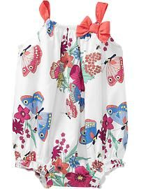 Butterly Bubble Rompers for Baby