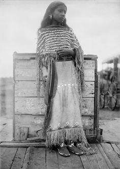 Kiowa Girl 1892
