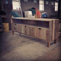 meuble tl en bois de grange deco pinterest salons wood projects and reclaimed wood furniture