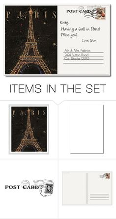 """""""Postcard From Paris"""" by rboowybe ❤ liked on Polyvore featuring art and contestentry"""