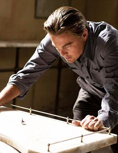 Leonardo DiCaprio in Christopher Nolan's Inception (2010)