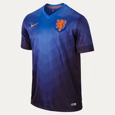Netherlands Nike 2014 World Soccer Replica Away Jersey - Navy Blue Football Kits, Nike Football, France Football Shirt, Soccer Gear, Soccer Jerseys, Pro Evolution Soccer, Soccer Outfits, Soccer Skills, Nike Workout Clothes