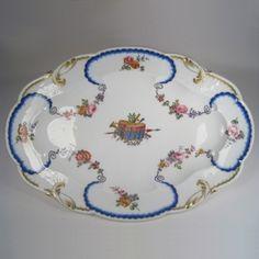 Tableware: A Large Oval Sèvres Porcelain Dish, circa 1765