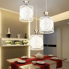 iron art Ceiling Light Simple Dinner Room Pendant Lamp Shades Chandelier 85-265V | Home & Garden, Lamps, Lighting & Ceiling Fans, Chandeliers & Ceiling Fixtures | eBay!
