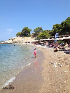 at Vrelos Beach #Spetses Island
