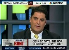 Cenk Uygur, from the young Turks. Love seeing him fight the prgressive fight on MSNBC