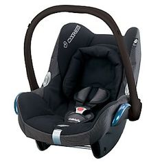 Maxi-Cosi CabrioFix Infant Carrier, Black Reflection