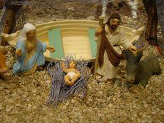 La Nativité de l'Atelier de Fanny, au bord de l'eau