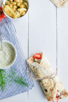 Charwarma aux pois-chiches rôtis et légumes {vegan} - aime & mange
