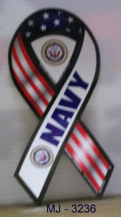 United States Navy - 2 in 1 Magnetic Ribbon