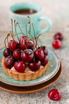 Cherry Tart by The Little Squirrel